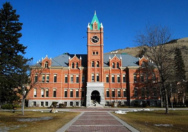 University of Montana Main Hall