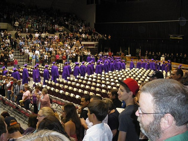 Sentinel High School commencement