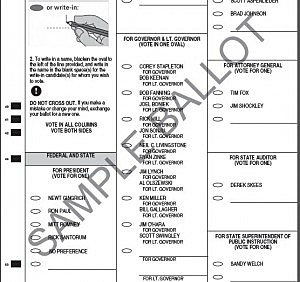 How to Check out a Sample Ballot Before You Vote