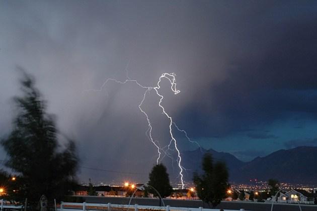 lightning fire