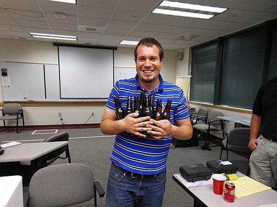 Jon King 8 beers