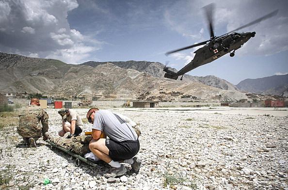 Soldiers in Afghanistan