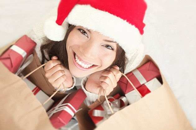 Christmas Shopping Woman