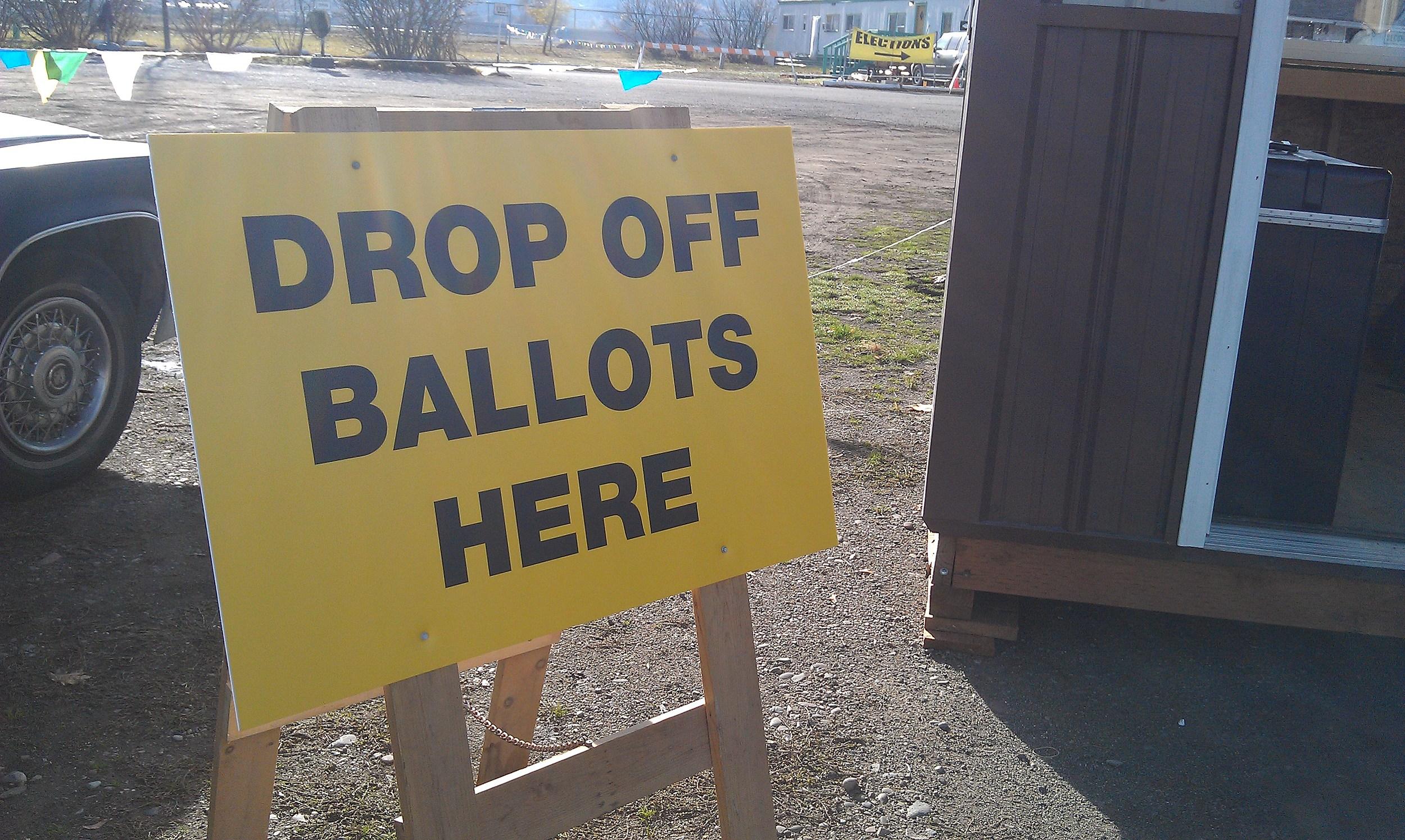 ballot drop off