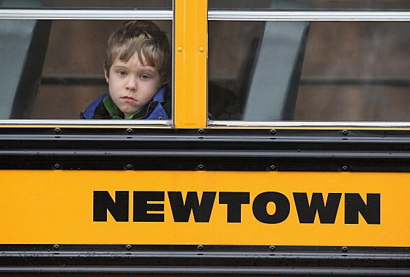 Newtown child on bus