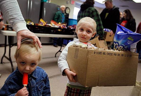 Food Bank kids