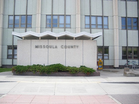 County Courthouse sign