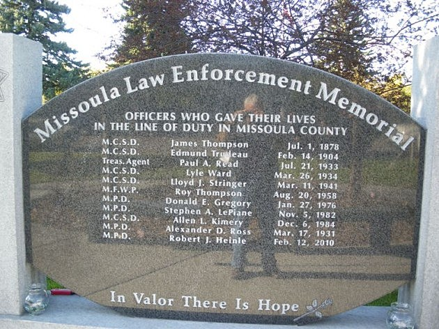 Police officers to be honored in two ceremonies