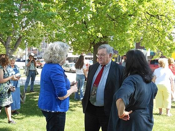 Fred Van Valkenburg at Geery rally