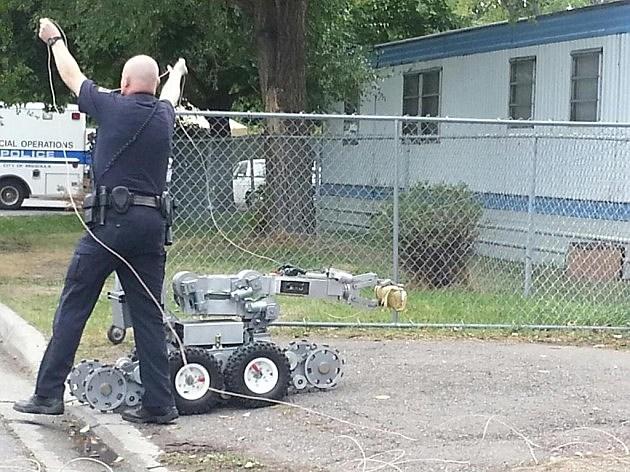 Missoula swat standoff robot