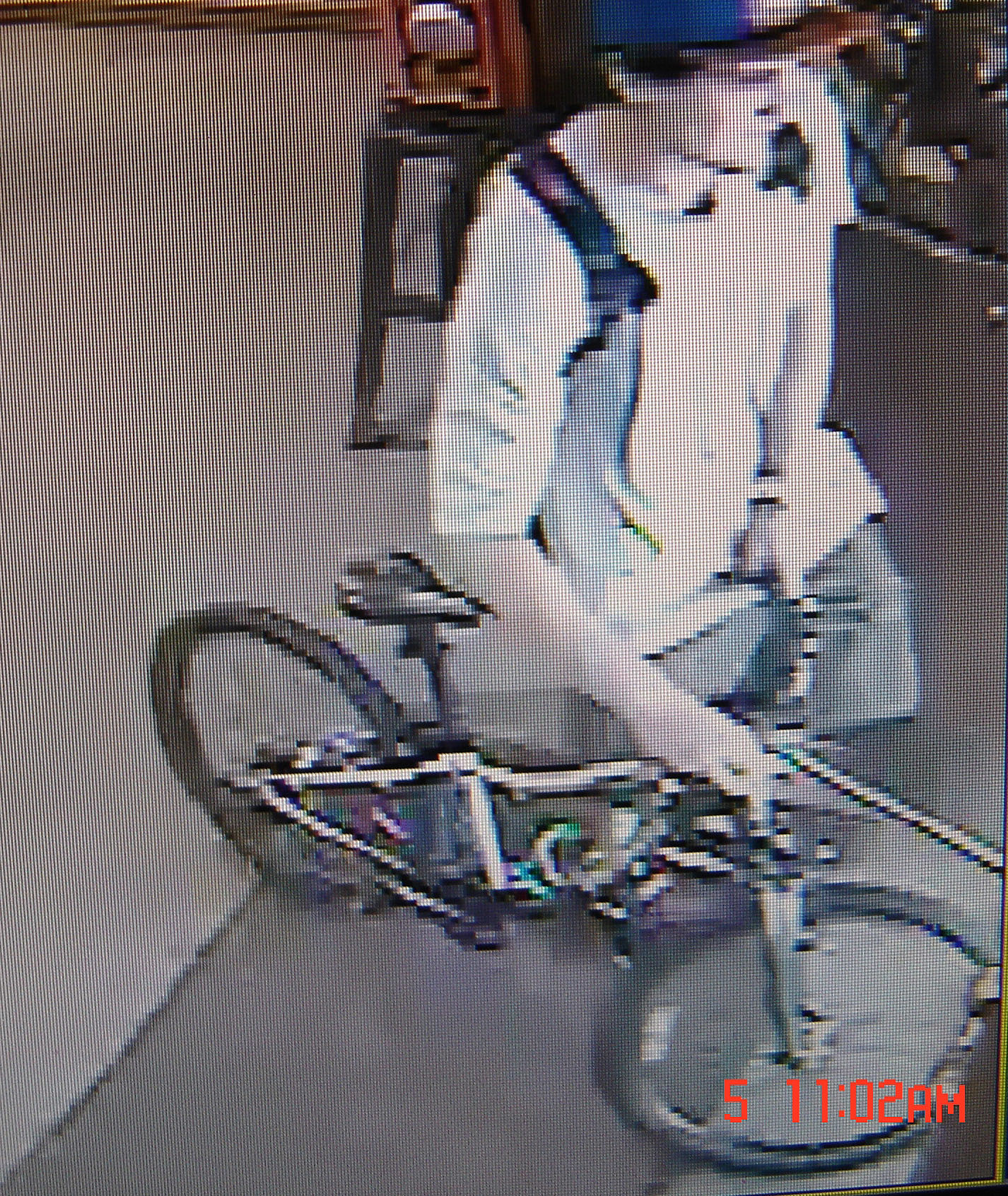 Stolen bike and suspect