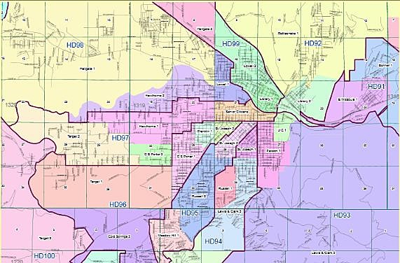 Missoula Voting Districts