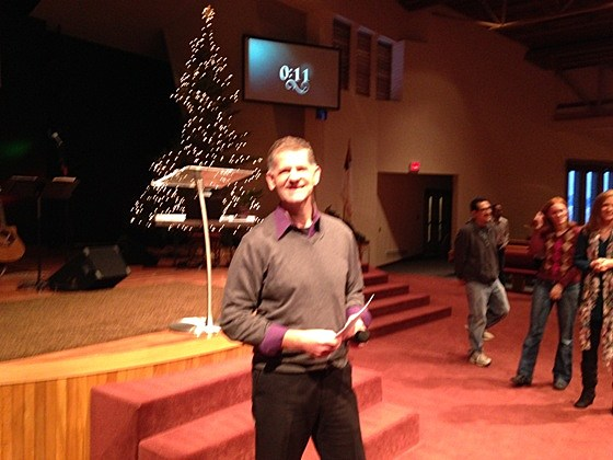 Pastor Jeff Valentine