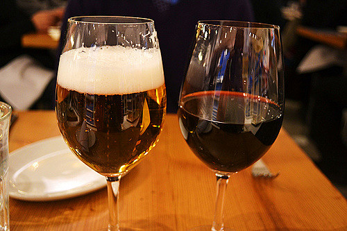 Beer and Wine