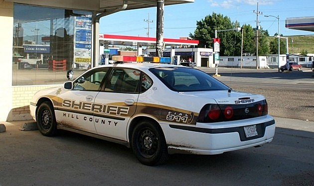 MT Sheriff's Car
