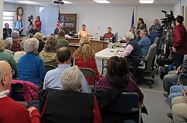 Ravalli County Commissioners meeting