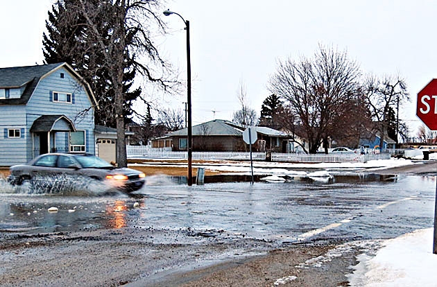 Flooding in Victor