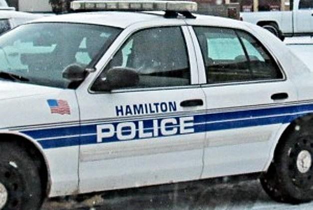 Hamilton Police car