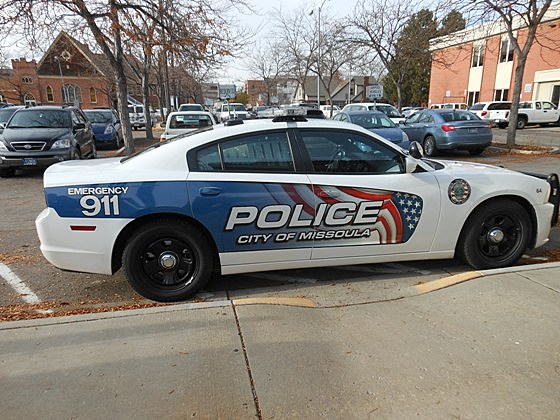 Missoula Police Car