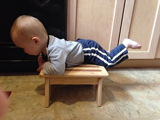 baby planking