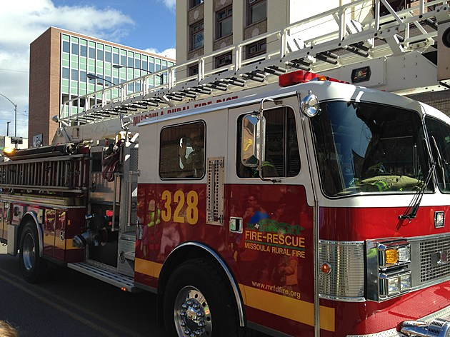 Missoula Fire Truck