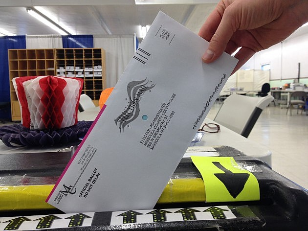 ballot in box