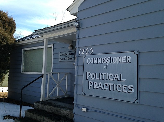 Commissioner of Political Practices office