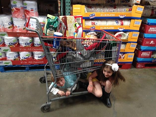 a full cart