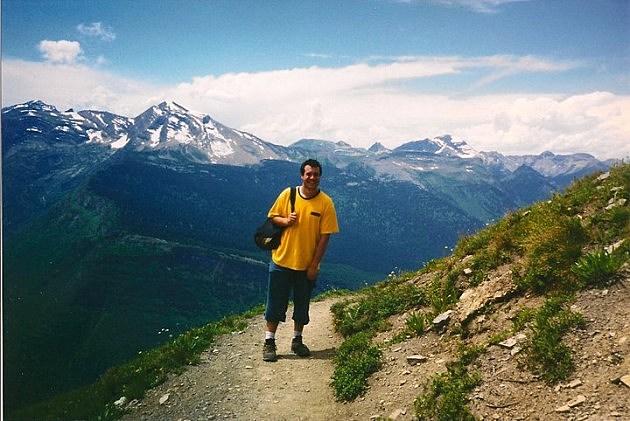 Jon in Glacier