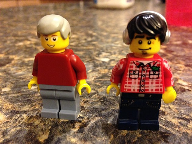Peter and Jon: The Lego Version