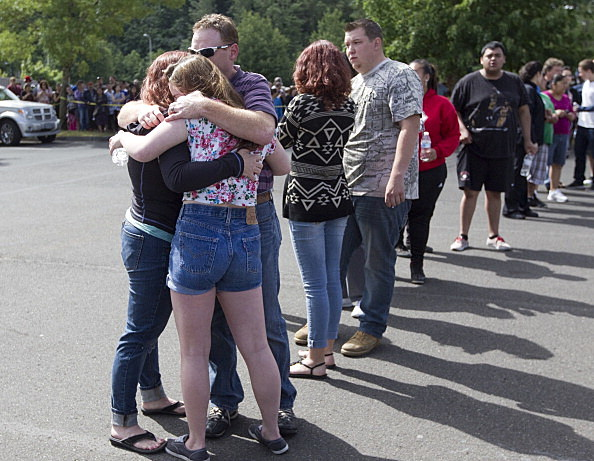 Shooting At Reynolds High School Outside Of Portland, Oregon