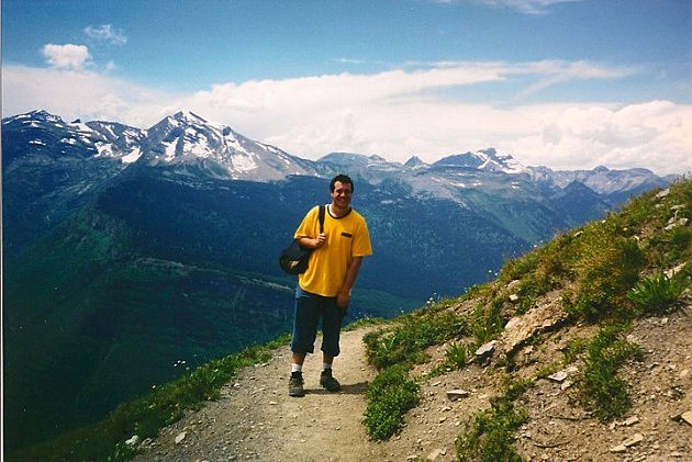 Jon in Glacier Park