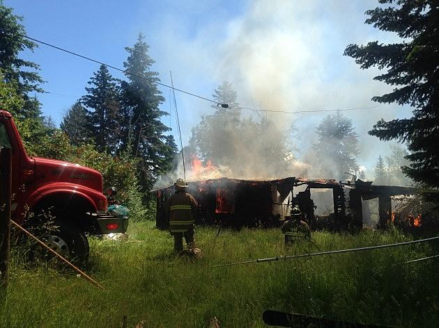 Lakeside House Fire