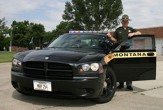 Montana Highway Patrol Car
