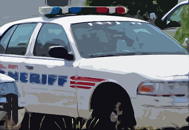 Ravalli County Sheriff's Car