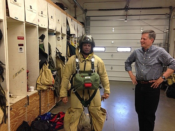 Smokejumper with Steve Daines
