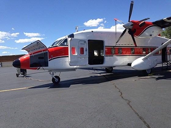 Smokejumper Sherpa Aircraft