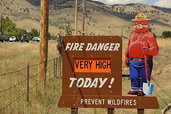 """Fire Danger """"Very High"""""""