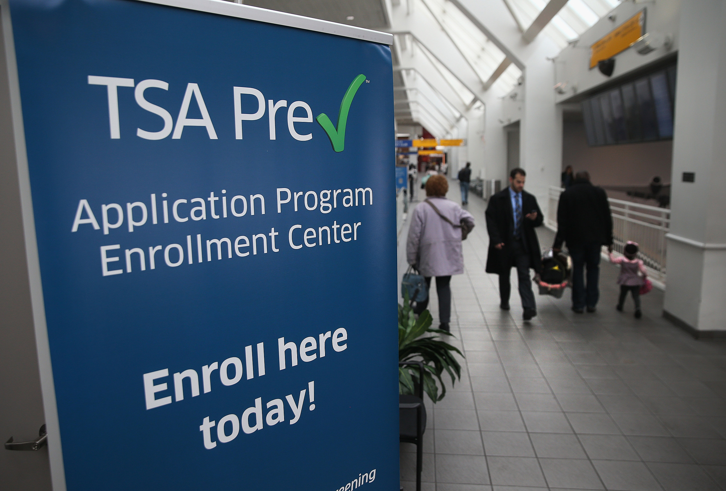 TSA Officials Highlight New Pre Application Program Center At LaGuardia Airport