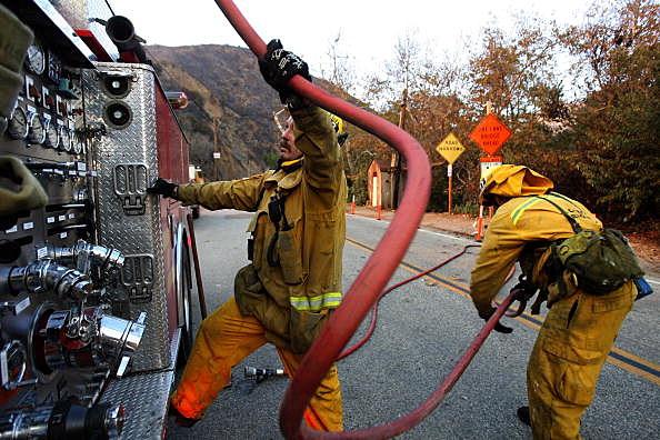 Malibu Wildfire Burns Homes