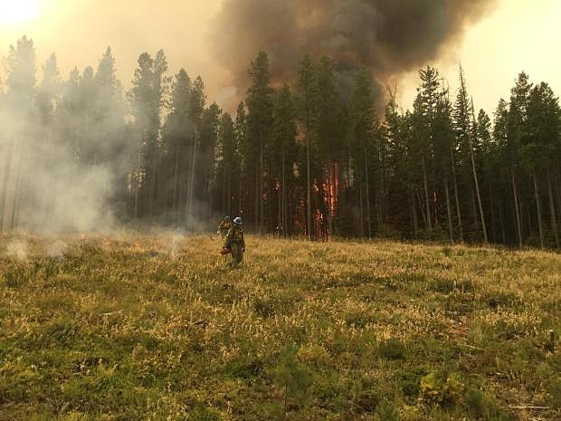 New mapping puts Gibralter Ridge Fire at 1100 acres, meeting set