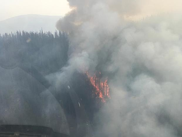Lolo Peak Fire continues to grow as fire conditions worsen
