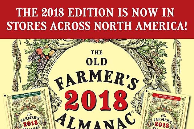 Old farmers almanac predicts colder winter with more snow for Winter 2018 predictions farmers almanac